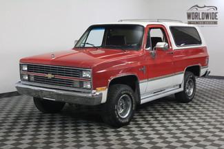 1984 Chevrolet BLAZER BANKS TURBO DIESEL! 4x4! in Denver Colorado