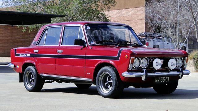 1974 Fiat POLSKI 1800 AKROPILIS RALLY CAR Phoenix, Arizona 3