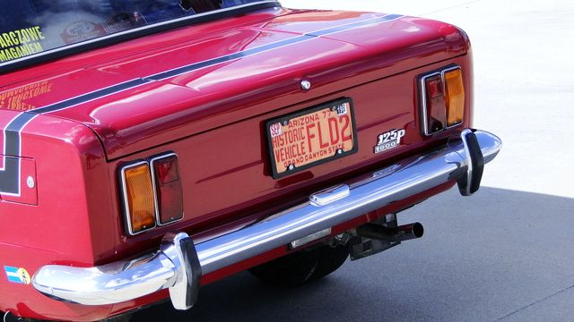 1974 Fiat POLSKI 1800 AKROPILIS RALLY CAR Phoenix, Arizona 9