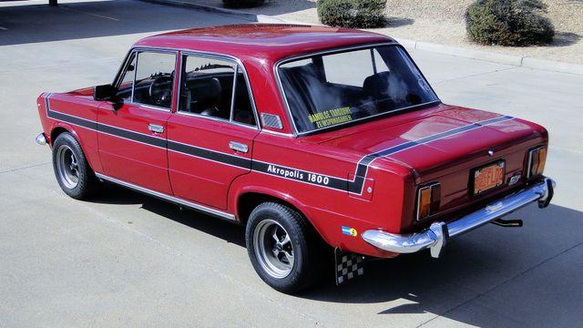 1974 Fiat POLSKI 1800 AKROPILIS RALLY CAR Phoenix, Arizona 4