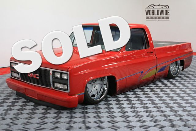 1984 GMC PICKUP AIR RIDE 22 INCH WHEELS | Denver, Colorado | Worldwide Vintage Autos
