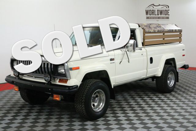 1984 Jeep J10 REBUILT ENGINE, TRANSMISSION & TRANSFER CASE | Denver, CO | WORLDWIDE VINTAGE AUTOS