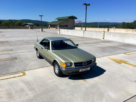 1984 Mercedes Benz 500 SEC  in Bethel, Pennsylvania