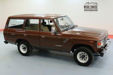 1984 Toyota FJ60 4X4. NEW PAINT GREAT SHAPE CLEAN CARFAX | Denver, CO | Worldwide Vintage Autos in Denver, CO