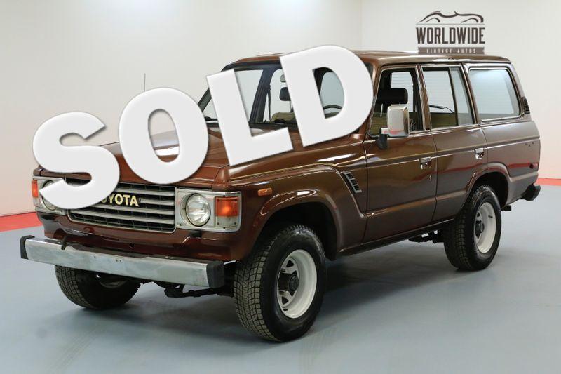 1984 Toyota FJ60 4X4. NEW PAINT GREAT SHAPE CLEAN CARFAX | Denver, CO | Worldwide Vintage Autos