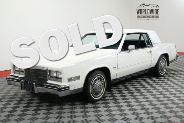1985 Cadillac ELDORADO ROADSTER in Denver CO