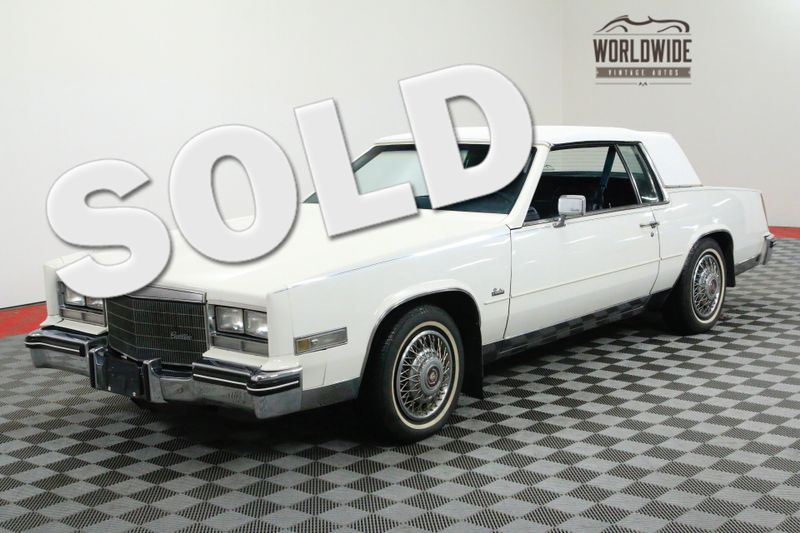 1985 Cadillac ELDORADO ROADSTER ALL ORIGINAL 60K+ MILE CLASSIC 2 OWNER | Denver, CO | Worldwide Vintage Autos