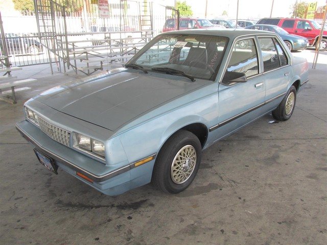 1985 Chevrolet Cavalier CS This particular Vehicles true mileage is unknown TMU Please call or
