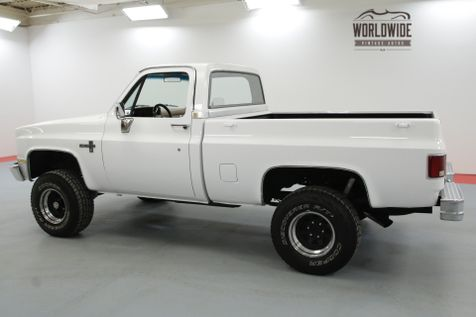 1985 Chevrolet K10 RESTORED. CRATE V8 UPDATED AC 11K MILES   Denver, CO   Worldwide Vintage Autos in Denver, CO