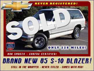 1985 Chevrolet S-10 Blazer 2WD- BRAND NEW- Still in the factory wrapper! Mooresville , NC