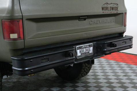 1985 Chevrolet TRUCK K30/D30 TURBO DIESEL 4x4! $4K WHEELS RARE   Denver, CO   Worldwide Vintage Autos in Denver, CO