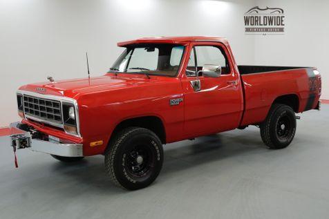 1985 Dodge POWER RAM 4X4 RESTORED CUSTOM RARE V8 PS PB | Denver, CO | Worldwide Vintage Autos in Denver, CO
