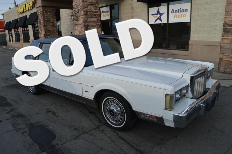 1985 Lincoln TOWN CAR    Bountiful, UT   Antion Auto in Bountiful UT