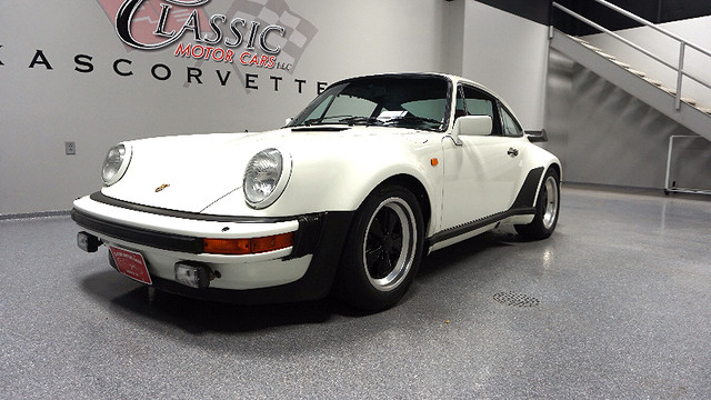 1982 white porsche 911 930 carrera only 16 000 miles texas. Black Bedroom Furniture Sets. Home Design Ideas