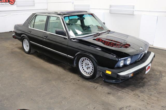 1986 bmw 5 series 535i 3 5l i6 4 spd auto body int good. Black Bedroom Furniture Sets. Home Design Ideas