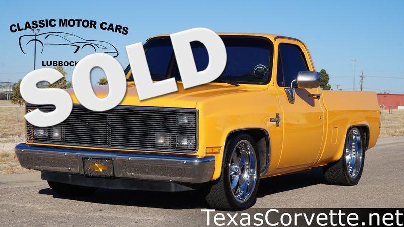 1986 Chevrolet C10 Silverado    Lubbock, Texas   Classic Motor Cars