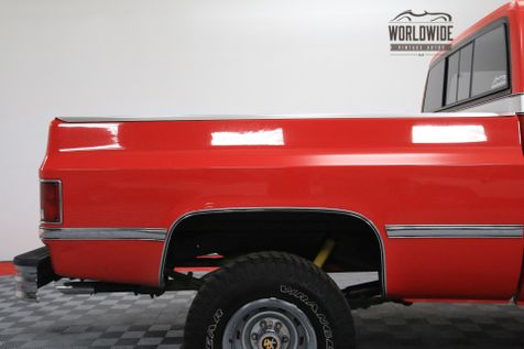 1986 Chevrolet K10 SHORT BED FRAME OFF RESTORED | Denver, Colorado | Worldwide Vintage Autos in Denver, Colorado