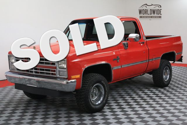 1986 Chevrolet K10 SHORT BED FRAME OFF RESTORED | Denver, Colorado | Worldwide Vintage Autos
