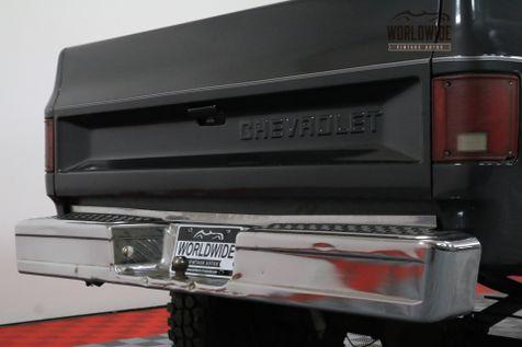 1986 Chevrolet 1500 K10 CUSTOM DELUXE SHORT BED 4x4. AC! LIFTED!   Denver, Colorado   Worldwide Vintage Autos in Denver, Colorado