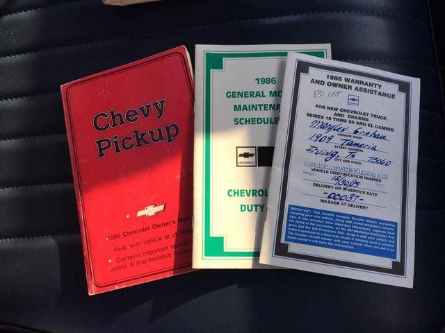 1986 Chevrolet Pickup SWB RedLineMuscleCars.com, Oklahoma 4