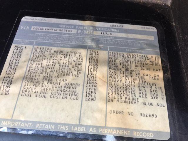 1986 Chevrolet Pickup SWB RedLineMuscleCars.com, Oklahoma 7