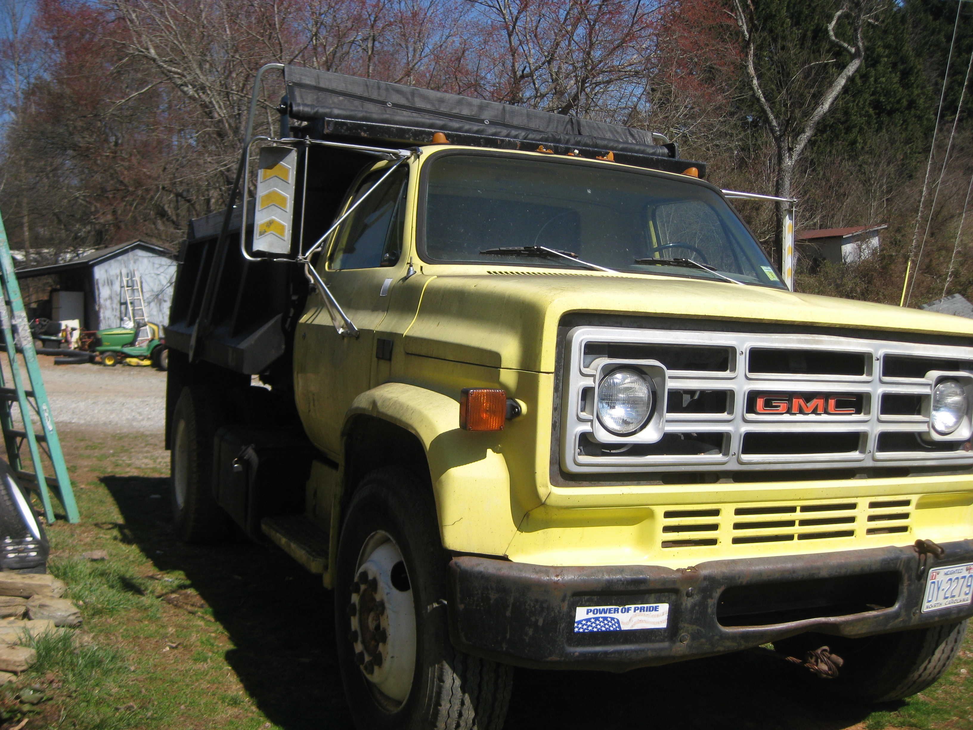 1986 gmc dump truck single axle waxhaw nc 28173 for Motor city gmc service department
