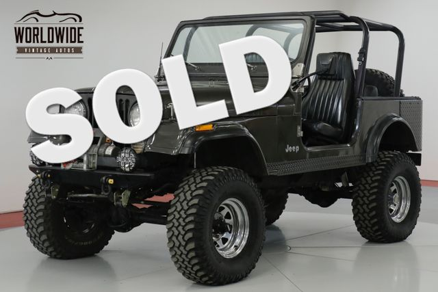50 Best Used Jeep Cj 7 For Sale Savings From 3 299