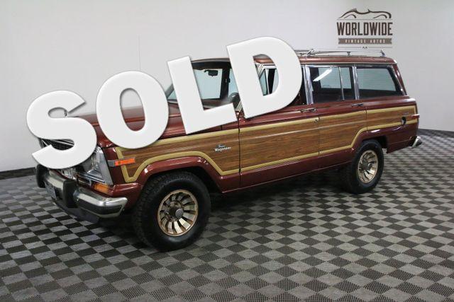 1986 Jeep GRAND WAGONEER LOW MILEAGE ORIGINAL V8 AUTO   Denver, Colorado   Worldwide Vintage Autos
