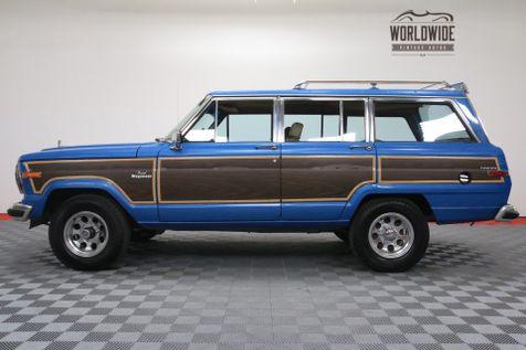 1986 Jeep GRAND WAGONEER V8 AUTO AC WOODY RESTORED | Denver, Colorado | Worldwide Vintage Autos in Denver, Colorado