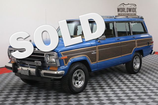 1986 Jeep GRAND WAGONEER V8 AUTO AC WOODY RESTORED | Denver, Colorado | Worldwide Vintage Autos
