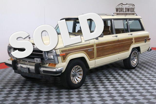 1986 Jeep WAGONEER 1 OWNER 77K MILES COLLECTOR GRADE   Denver, Colorado   Worldwide Vintage Autos