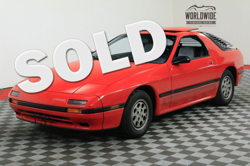 1986 Mazda RX-7 77K ORIGINAL MILES. COLLECTOR QUALITY. | Denver, CO | Worldwide Vintage Autos