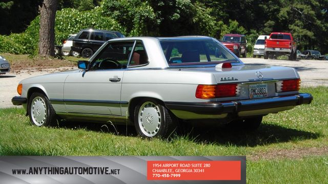 1986 Mercedes-Benz 560 Series 560SL Chamblee, Georgia 1