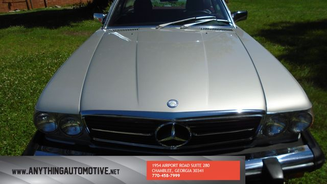 1986 Mercedes-Benz 560 Series 560SL Chamblee, Georgia 11