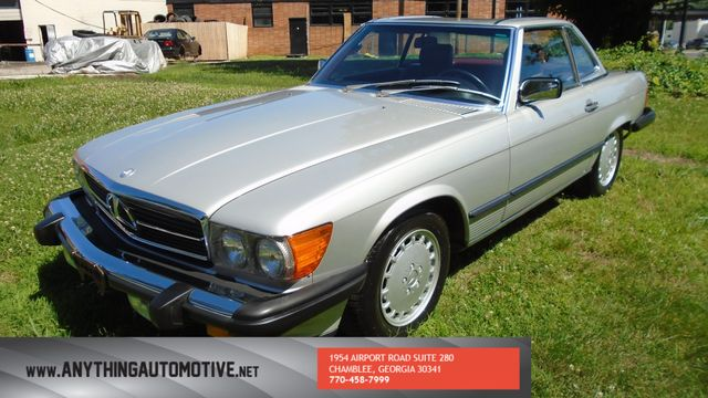 1986 Mercedes-Benz 560 Series 560SL Chamblee, Georgia 12