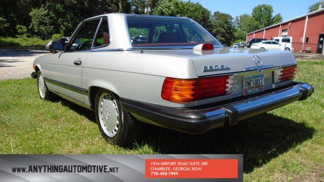 1986 Mercedes-Benz 560 Series 560SL Chamblee, Georgia 14