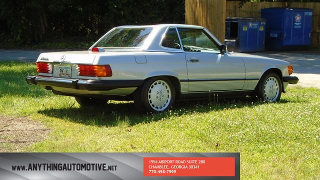 1986 Mercedes-Benz 560 Series 560SL Chamblee, Georgia 3
