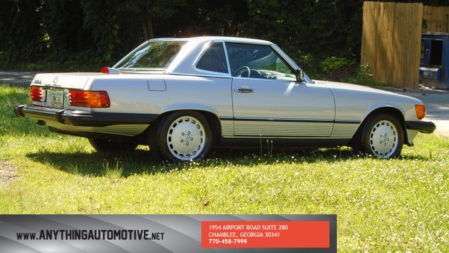 1986 Mercedes-Benz 560 Series 560SL Chamblee, Georgia 4