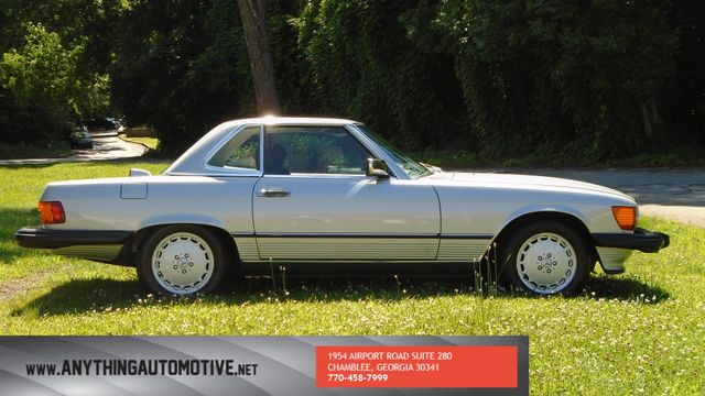 1986 Mercedes-Benz 560 Series 560SL Chamblee, Georgia 5