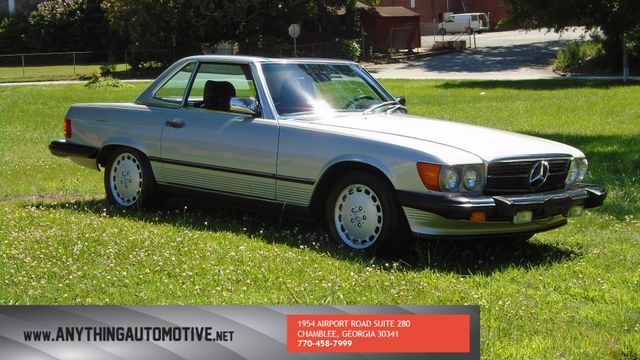 1986 Mercedes-Benz 560 Series 560SL Chamblee, Georgia 6