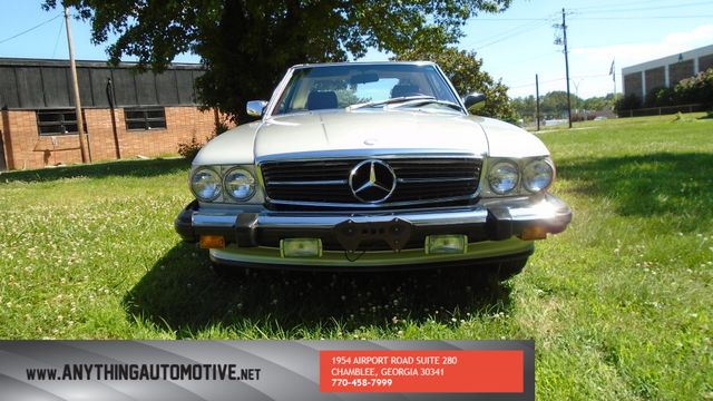 1986 Mercedes-Benz 560 Series 560SL Chamblee, Georgia 7