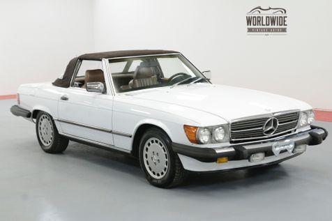 1986 Mercedes-Benz 560SL RARE  LOW MILES CLEAN AUTO CHECK TWO TOPS | Denver, CO | Worldwide Vintage Autos in Denver, CO
