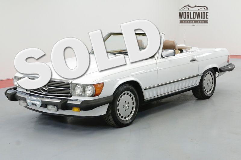 1986 Mercedes-Benz 560SL RARE  LOW MILES CLEAN AUTO CHECK TWO TOPS | Denver, CO | Worldwide Vintage Autos