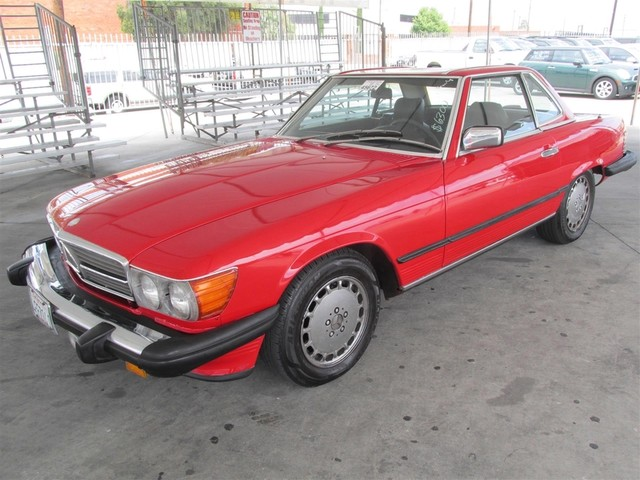 1986 Mercedes 560 Series 560SL Please call or e-mail to check availability All of our vehicles