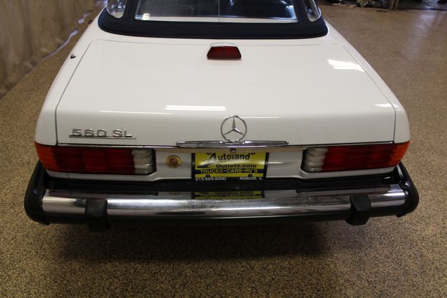 1986 Mercedes-Benz 560 Series 560SL Roscoe, Illinois 14
