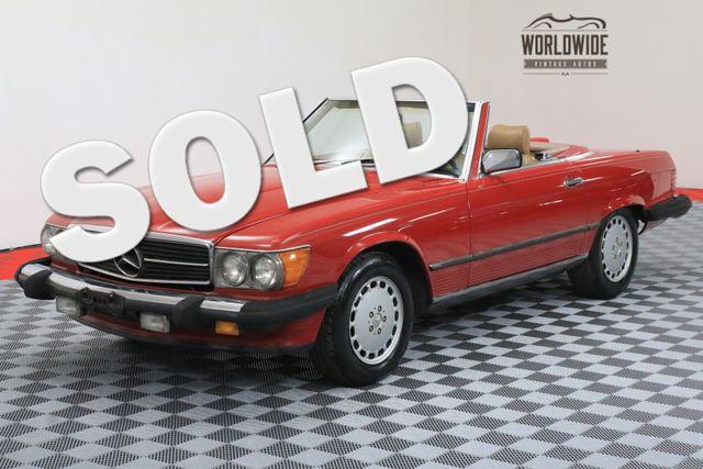 1986 Mercedes-Benz 560SL CLEAN V8 AUTO AC 76K! | Denver, Colorado | Worldwide Vintage Autos