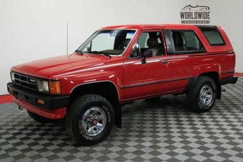 1986 Toyota 4RUNNER ORIGINAL LOW MILES MANUAL COLLECTOR GRADE | Denver, CO | WORLDWIDE VINTAGE AUTOS in Denver, CO