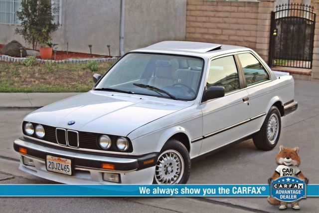 1987 BMW 3 Series 325ES COUPE MANUAL LEATHER SUNROOF ALLOY WHLS Woodland Hills, CA 0