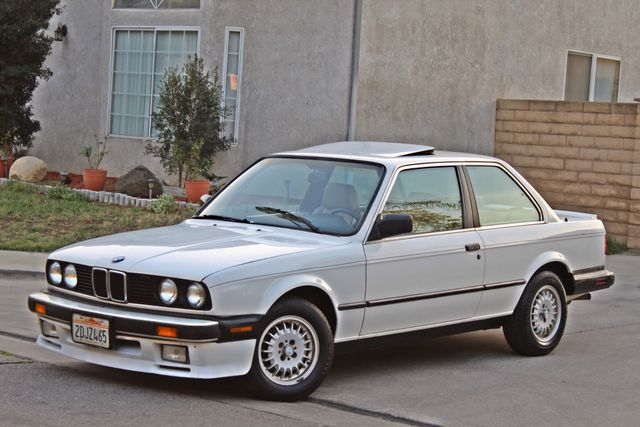 1987 BMW 3 Series 325ES COUPE MANUAL LEATHER SUNROOF ALLOY WHLS Woodland Hills, CA 14