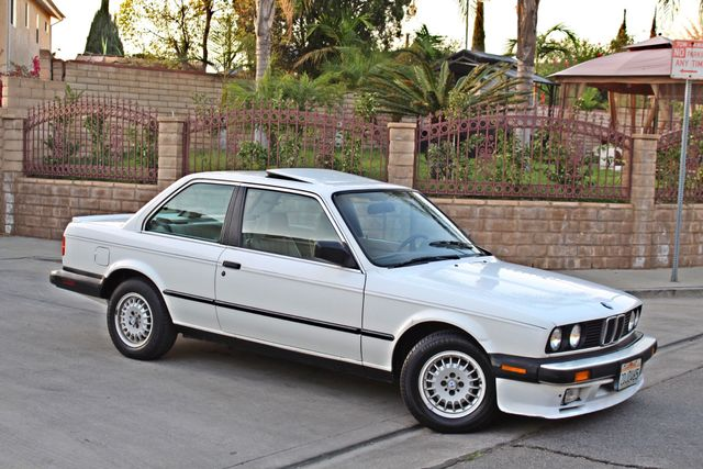 1987 BMW 3 Series 325ES COUPE MANUAL LEATHER SUNROOF ALLOY WHLS Woodland Hills, CA 9